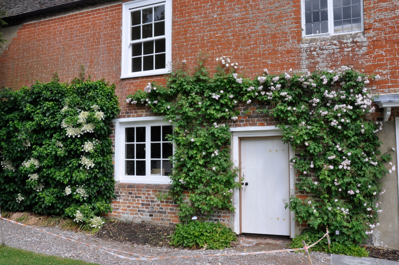 This is where Jane Austen lived when she wrote Pride & Prejudice.